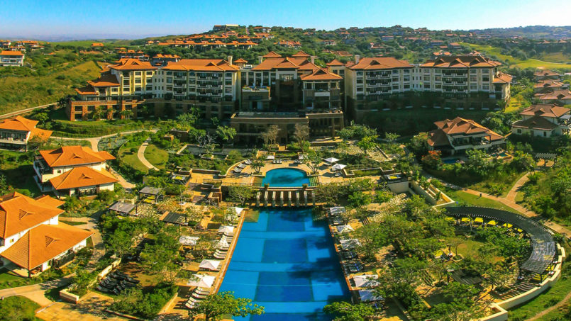 5-star Fairmont Zimbali resort in Durban!